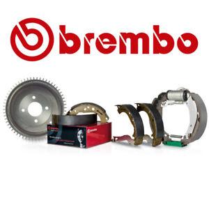 Brembo   2 Bremstrommeln 180 + Bremsbeläge Hinten für VW AUDI Bremstrommel-Set