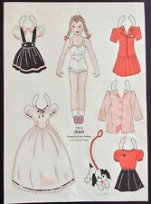 1944, Jean Mag. Paper Dolls, Wee Wisdom Mag.,Dorothy Wagstaff Artist