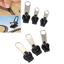 6pcs/set Removable Fix Zipper Zip Slider Rescue Instant Repair Kit Replacement