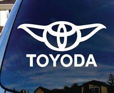 Toyota Toyoda Yoda  Vinyl Die Cut Decal Sticker car window laptop