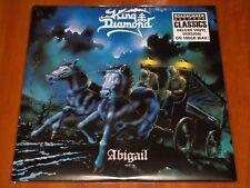 KING DIAMOND ABIGAIL 2x LP *RARE* EU ROADRUNNER PRESS VINYL 180g GERMANY LTD New