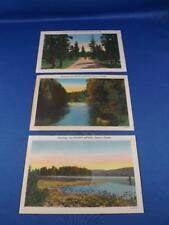 POSTCARDS LOT 3 GREETINGS FROM SOUTHAMPTON ONTARIO CANADA RIVER LAKE TREES