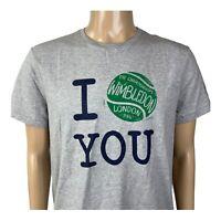 Polo Ralph Lauren Wimbledon Collection Tennis T Shirt Size Large Gray NWT