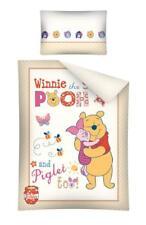 Disney WINNIE THE POOH & PIGGLET pour bébé Ensemble de literie 100% coton beige