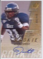 jarett dillard rookie rc auto autograph rice owls college spx #/299 2009