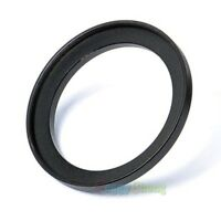 49mm-52mm 49-52 mm 49 to 52 Metal Step Up Lens Filter Ring Adapter Black