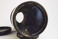 Panagor PMC Zoom Lens 75-205mm 1:3 .5 Pentax PK macro