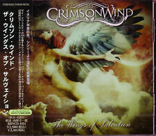 CRIMSON WIND The Wings Of Salvation + 2 Japan CD Thy Majestie Italy Power Metal