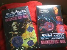 Star Trek TNG; Collectible Dice Game Both Starters!