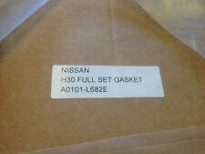 Nissan Datsun H30 Komatsu TCM Gas Forklift Full Gasket Set A0101-L682E