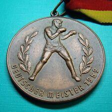 DDR Medaille - Box-Sport - Deutscher Meister im Halbschwergewicht - 1959
