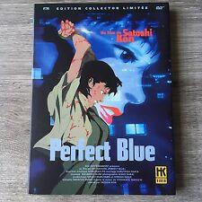 Dvd PERFECT BLUE dessin Animé Japonais HK VIDÉO Edition Collector Limitée VF