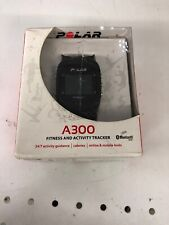 Polar A300 Fitness And Activity Tracker Used , Serious Scratch, NO CHARGER
