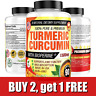 Turmeric Curcumin 1500 mg Ultra High Absorption Extra Strength Vegan Capsules 90