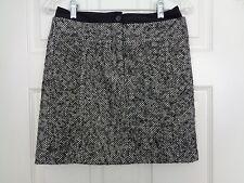 Ann Taylor Loft Petites Gray Tweed Pencil Style Skirt Size 0P