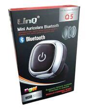 Mini Micro Auricolare Cuffia Bluetooth 4.1 Musica Smartphone Tablet Linq Q5