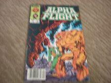 Alpha Flight #9 (1st Series 1984) Marvel Comics