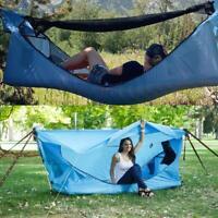 Tent Hammock 3pc hammock+fly+air mattress 1 man tent 6/'x2/' camping hanging tent