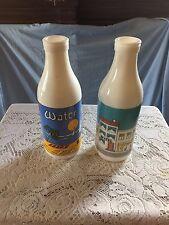 carolton glass milk bottles