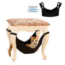 Soft Kitten Waterproof Cat Hammock Hanging Bed Table Legs Tie Hanging Dog Cage
