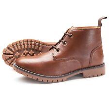 Samuel Windsor Men's Handmade Chiltern Brown Casual Chelsea Boots UK Sizes 5-14