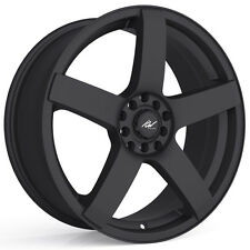 4-NEW ICW Racing 216B Mach 5 15x6.5 5x100/5x114.3 +38mm Satin Black Wheels Rims