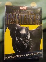 BLACK PANTHER - PLAYING CARD DECK - 52 CARDS NEW - MARVEL MOVIE