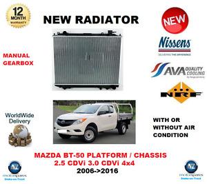 Für Mazda BT 50 Plateau CD Un 2.5 Cdvi 3.0 Cdvi 4x4 2006- > 2016 Neu Kühler