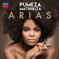 MATSHIKIZA, PUMEZA Arias CD new sealed