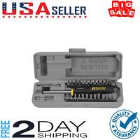 Wheeler 26 Bit Gunsmith Screwdriver Set Space Saver Tool Gunsmithing Firearm