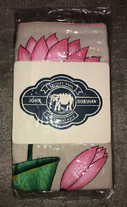 """NWT John Robshaw Textiles - Lotus Decorative Pillow 20""""x20"""""""
