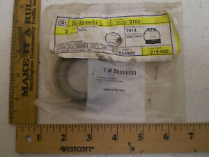 SAAB 9-3 9-3X 9-5 900 1994-2011 CV Joint Housing Seal INNER OEM 55353153 NEW