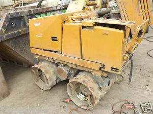 2007 Bomag BMP851 Double Drum Trench Roller SPARES OR REPAIRS (3493)
