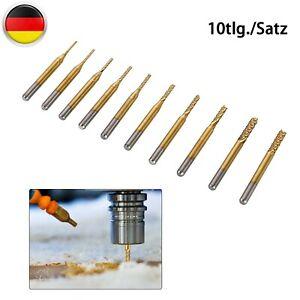 1//8 Schaft Hartmetall CNC 4 Flöte Spiralbohrers Schaftfräser CEL 17mm Werkze