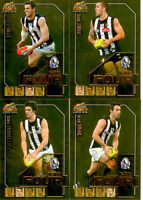 2011 Select AFL Champions Fab Four Gold Card Team Set (4):Collingwood
