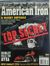 American Iron Issue 354 Top Secret 8 Secret Softails Harley FREE SHIPPING sb