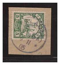 Samoa  ° Palauli 9.11.05  Luxus Briefstück gepr. BPP  ex Zistl