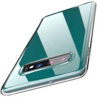 Schutzhülle Silikon - Für Samsung Galaxy S7 S8 S9 S10 - Slim TPU Case - klar