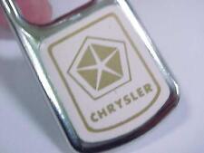 Vintage 1980's  CHRYSLER  Automobile Keychain / Ex Cond.
