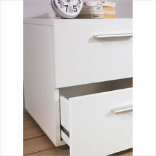 Two Drawer Nightstand Night Table X X