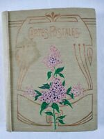 Ancien ALBUM CARTES POSTALES + 94 cartes 1900 région BRETAGNE