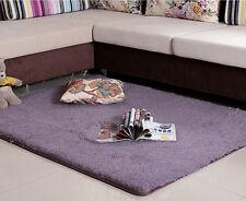Soft Room Carpet Bedroom Floor Mats Shaggy Fluffy Rugs Anti-Skid Area Rug Dining