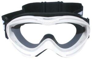 Bikeit WSGG Kids Clear Vision Off-Road Motorcycle Bike Goggles Flexible Frame