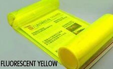 "High Quality Yellow Headlight Taillight Tint Vinyl Film Sticker 12""x39"""