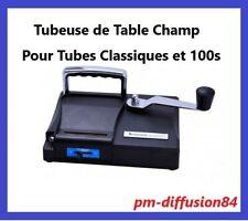 TUBEUSE de Table Manuelle CHAMP -  Machine à tuber les tubes classiques et 100s