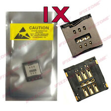 1 x For New iPhone 6 6 Plus NANO SIM Card Reader Slot Socket Holder Repair USA