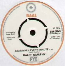 "[ROGER COOK] RALPH MURPHY ~ STAR BORN EVERY MINUTE ~ 1977 UK 7"" SINGLE"