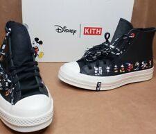 Converse Chuck Taylor All Star 70s HI KITH x Disney Black Leather Size 9