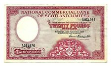 More details for scotland national commercial  bank (p267) 20 pounds 1959