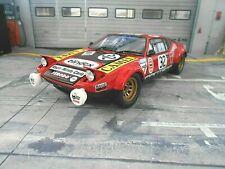 De Tomaso Pantera Ford V8 Gr.4 / 5 Le Mans 24h 1972 #32 Deprez Duboi Kyosho 1:18